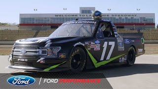 Hailie deegan's hard work and dedication has prepared her for the next biggest challenge of career... racing full-time in nascar truck series.subscri...