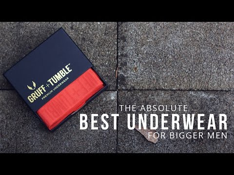 The Absolute Best Underwear For Bigger Men | BRYANT DEVON