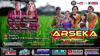 Live Streaming Campursari ARSEKA MUSIC // ARS AUDIO JILID 2 // HVS SRAGEN SIANG CREW 01