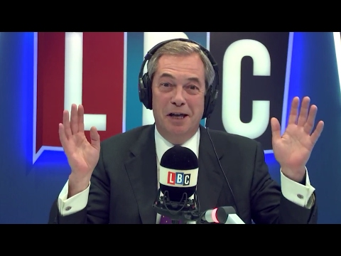 The Nigel Farage Show: Donald Trump's Immigration policy & Protesters. LBC 30/01/17