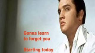 Elvis Presley- Starting Today- Cover With Lyrics (Pattarasila59)