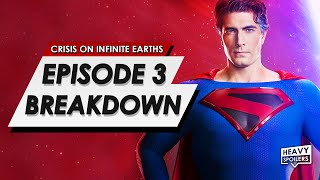 Crisis On Infinite Earths: Episode 3 Breakdown & Ending Explained | Predictions, Cameos & Theories