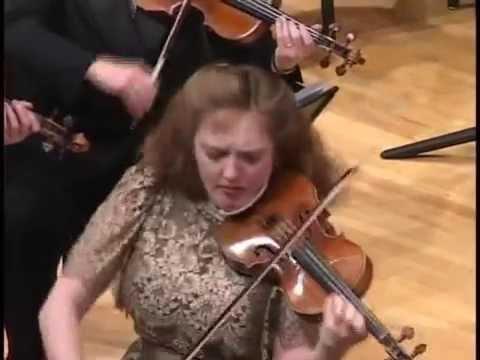 Wieniawski's Concerto # 2, 1st movement - Rachel Barton Pine