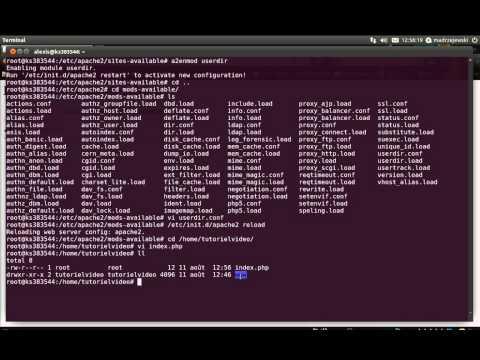 Créer son serveur FTP Linux