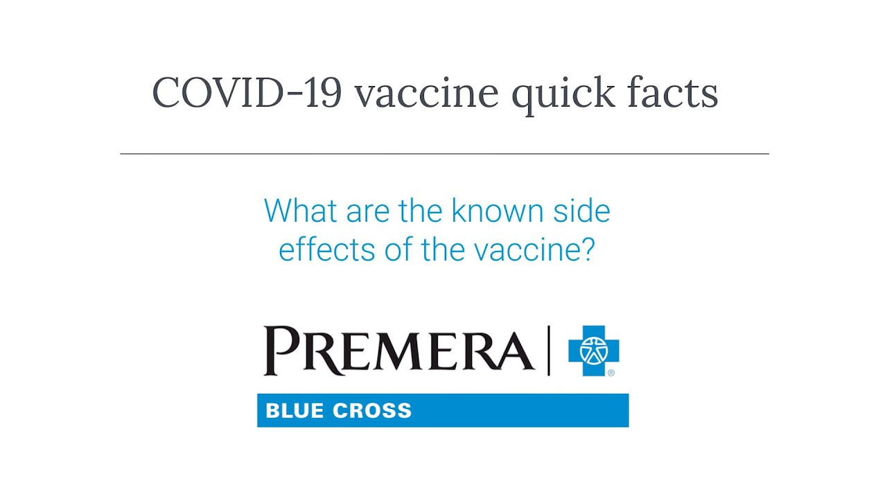 COVID-19 Q&A: What are the vaccine side effects?