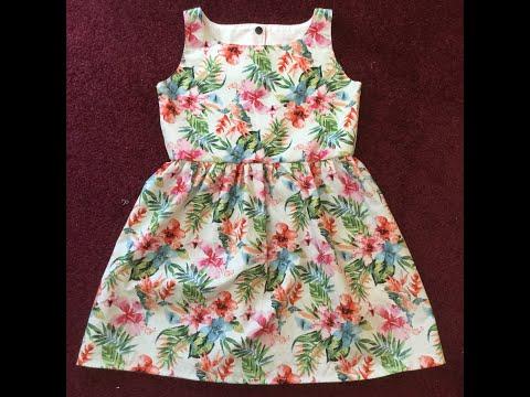 DIY Easy Little Girl's Dress