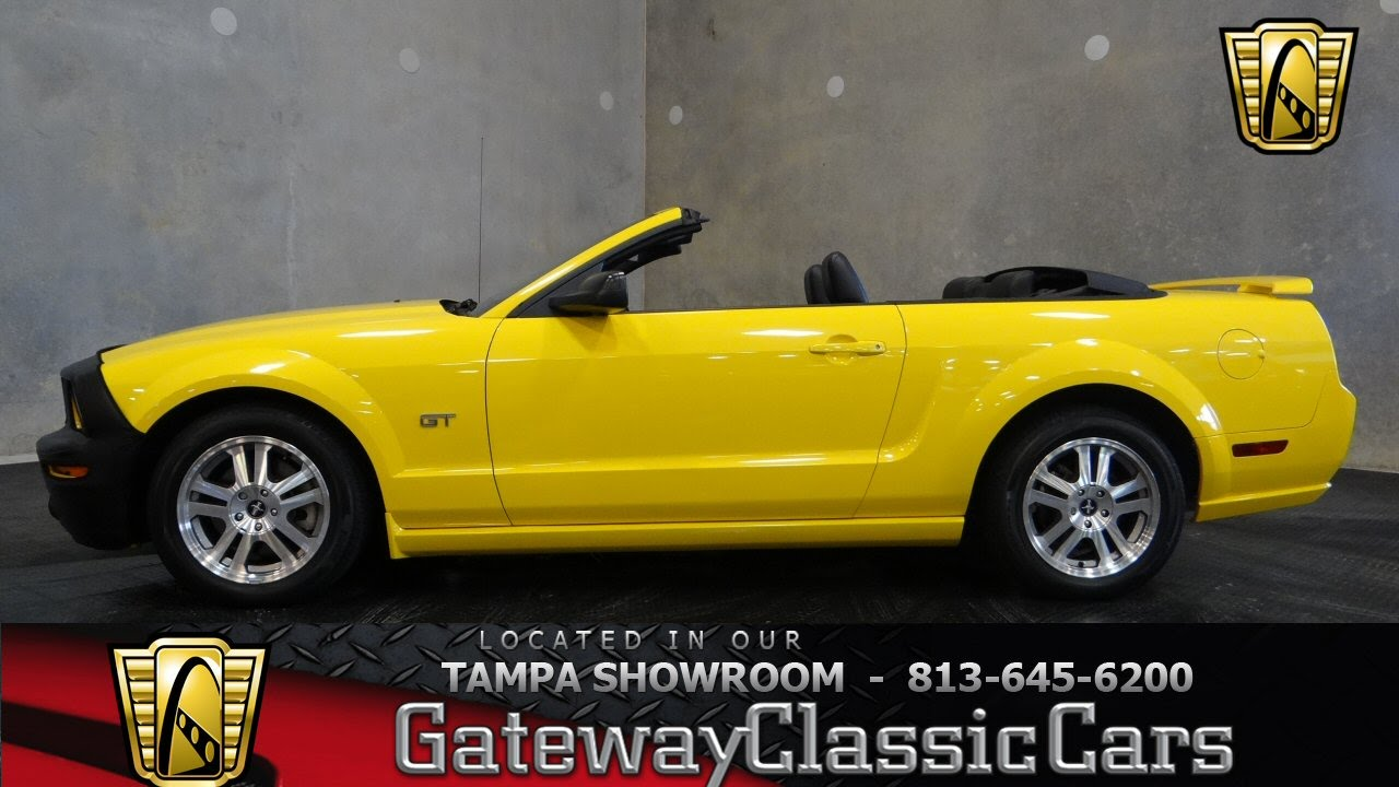 2006 ford mustang gt convertible youtube. Black Bedroom Furniture Sets. Home Design Ideas