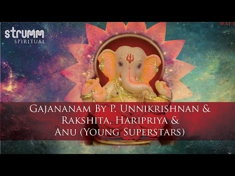 Gajananam by P. Unnikrishnan & Rakshita, Haripriya & Anu(Young Superstars)