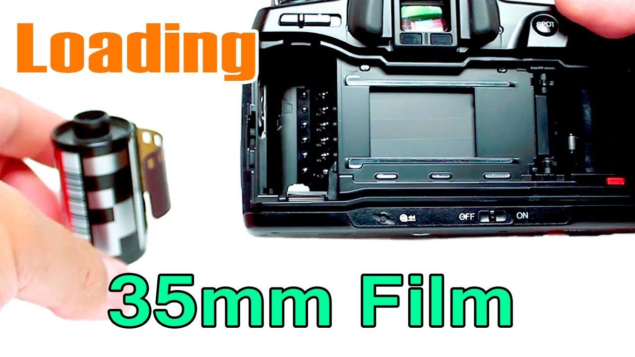 Loading 35mm Film Into Minolta 700si