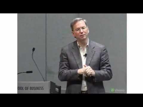 Healthcare - Eric Schmidt of Google on Pandemic Flu Trends