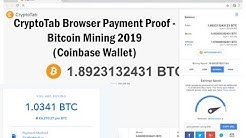 CryptoTab Browser Payment Proof - Bitcoin Mining 2020 (Coinbase Wallet)
