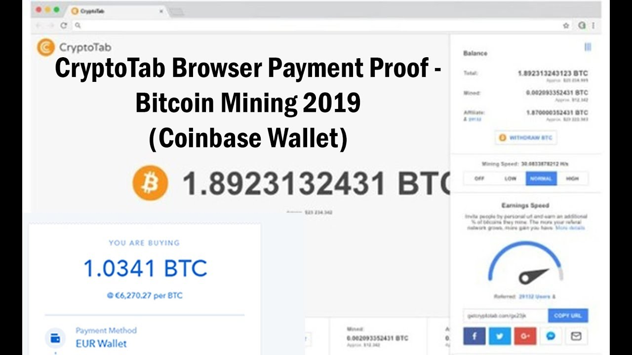 different ways to mine bitcoins in browser