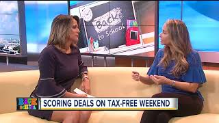 Scoring deals on school shopping tax-free holiday