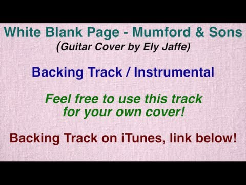 """""""White Blank Page"""" - Mumford & Sons - Instrumental Backing Track (by Ely Jaffe) on iTunes"""