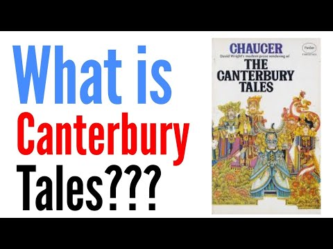 Canterbury Tales by Geoffrey Chaucer in Hindi summary Explanation and full analysis
