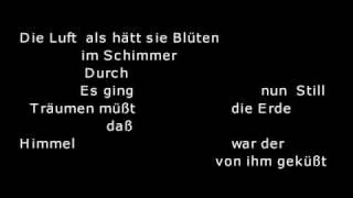 Robert Schumann - Mondnacht (Fischer-Dieskau)