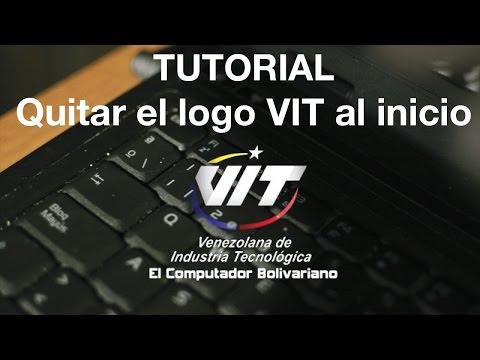 Cómo quitar el logo de VIT al iniciar la laptop M2400