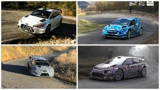wrc 2017 rally the 4 beasts compilation pure sound hd