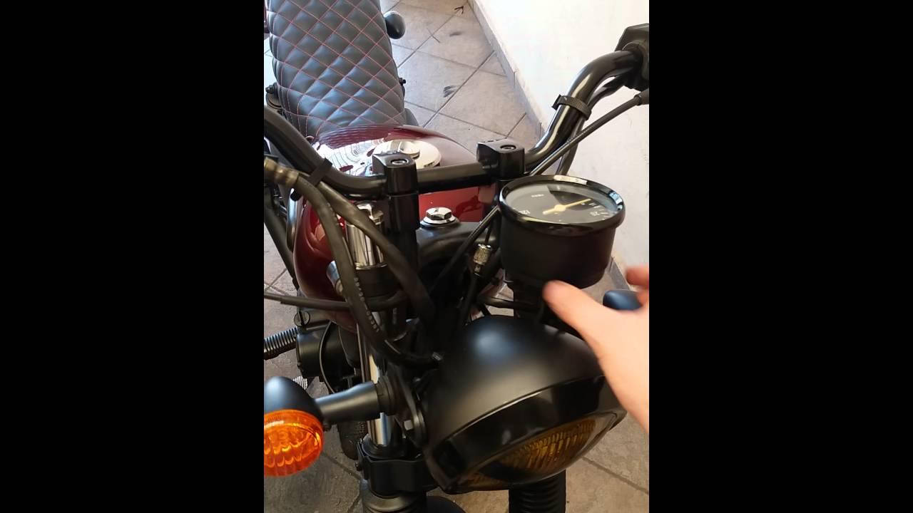 Intruder 125 café racer / brat / bratstyle / scrambler - 99% concluida