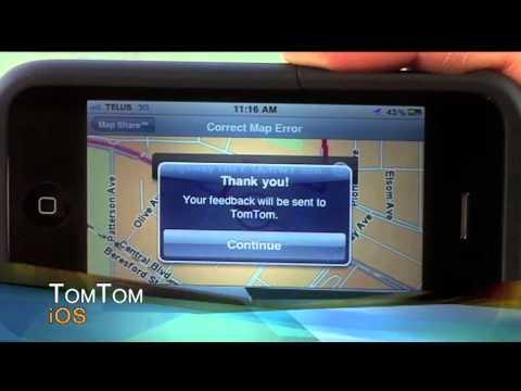 iPhone GPS Navigation App Showdown (TomTom vs  Garmin StreetPilot)