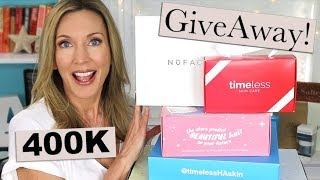 Celebrating 400K with 10 Giveaways! **CLOSED**