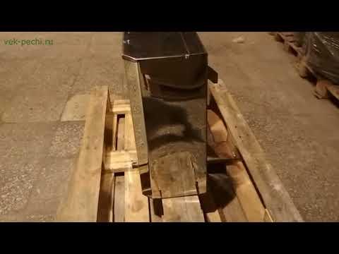 """Бак для воды в баню навесной на печь ТМ """"Радуга"""""""