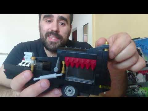 Heti Videó: 06# Lego Monster Fighters - 9464 Vampyre Hearse
