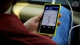 Nokia Drive test on Nokia Lumia 920: How to search for nearest gas station