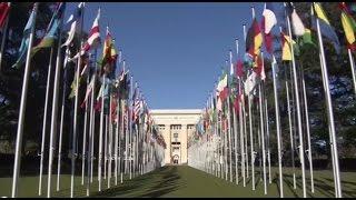 Dokumentarfilm über Aramäer aus Turkei bei der UNO in Genf