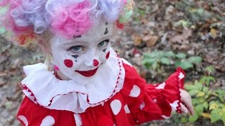 American Girl Bitty Baby Doll Plays Hide and Seek W/ Baby Clown in the Woods Play Doh Girl