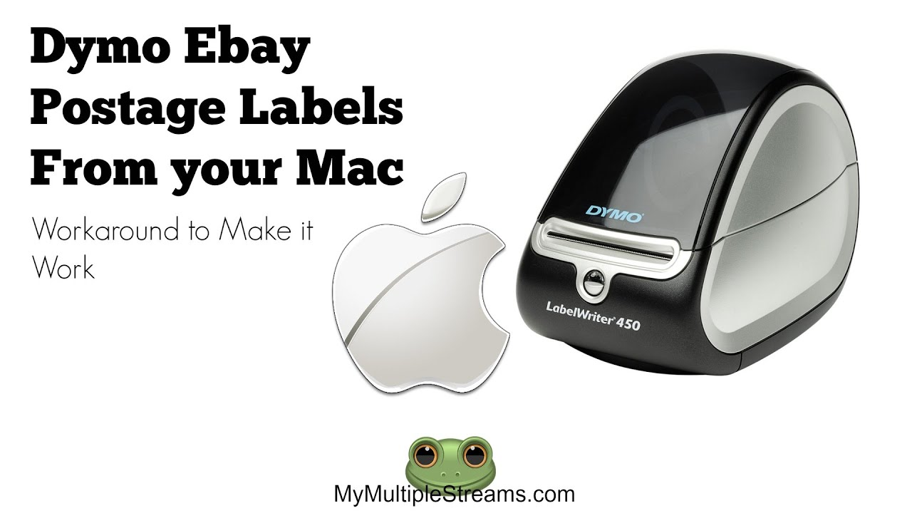 Ebay Shipping Labels with a Dymo and Mac Workaround
