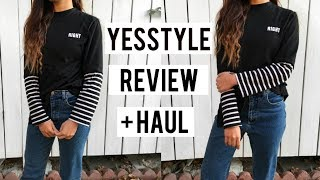 YESSTYLE REVIEW + HAUL