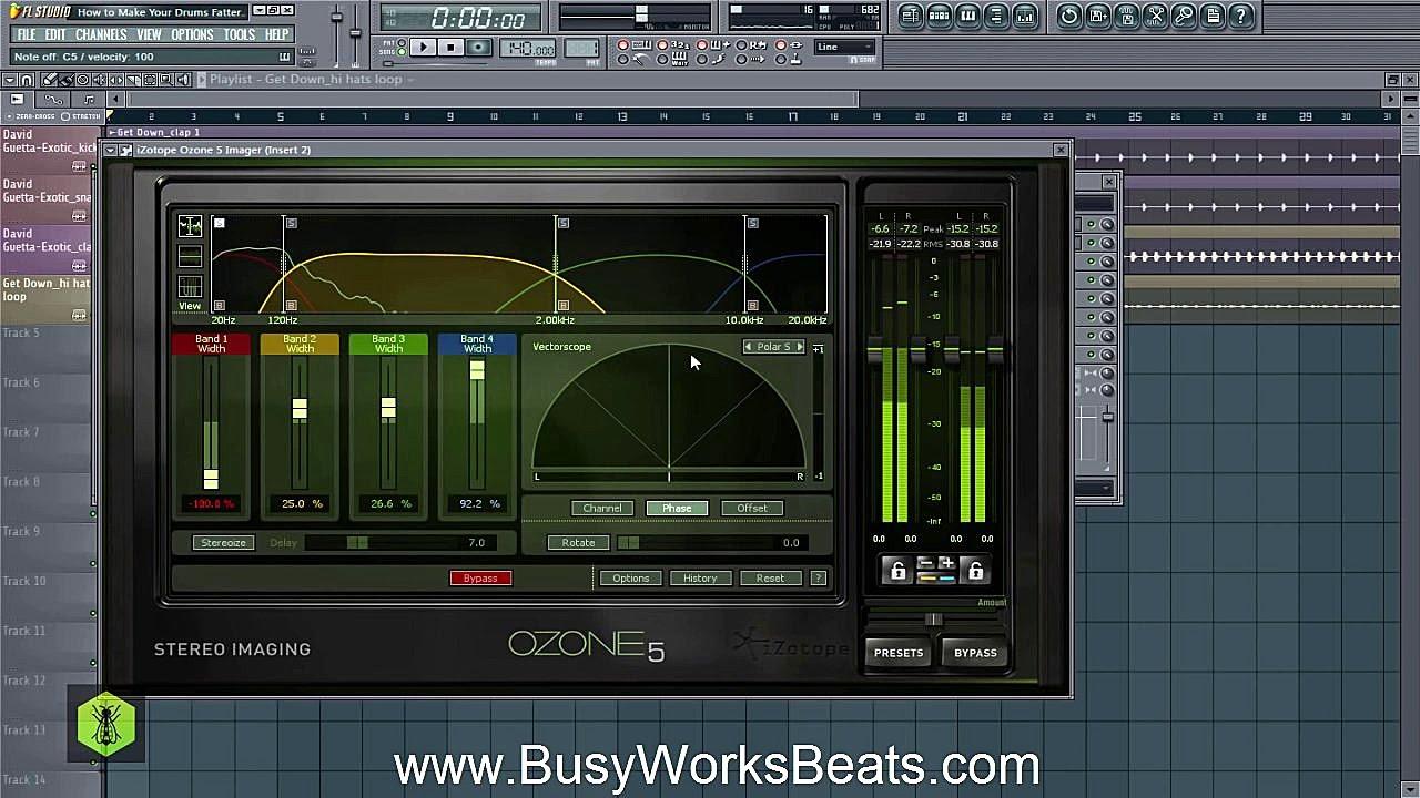fl studio how to make rhythmic drums