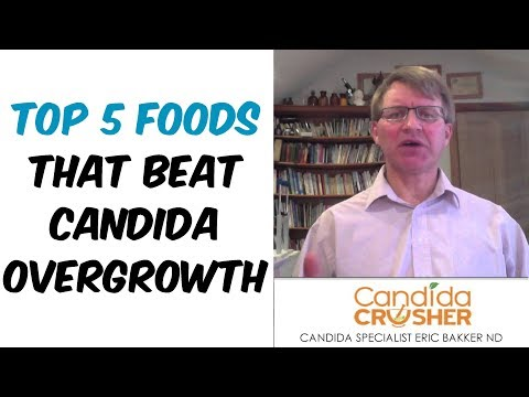 My TOP 5 Candida Fighting Foods - Foods That Beat Candida Overgrowth