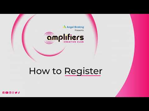 How to Register on Angel Amplifiers - Angel Broking Influencer Marketing Platform