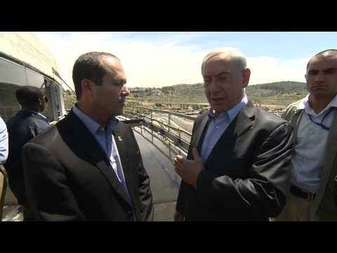 PM Netanyahu Visits the Jerusalem Sports Arena