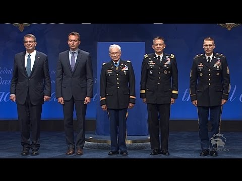 Lt. Col. Charles Kettles' Hall of Heroes Induction Ceremony (Full Version)