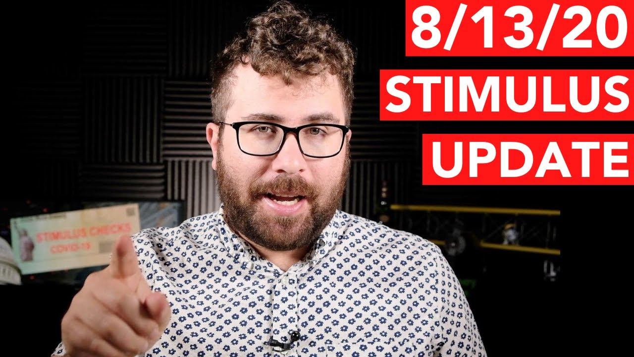 """August 13 Stimulus Update: Trump Says Deal """"Not Going to Happen"""" (ELECTION?)"""