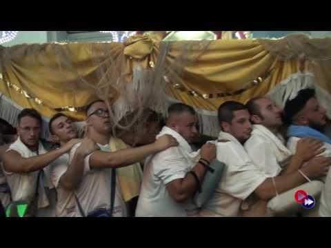 Gricignano (CE): Festa Sant'Andrea, rientro spettacolare della statua (29.08.16)