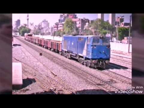 الجرار ( الجينرال اليكتريك و ادترانز النقل Adtranz Freight ) فيلم سكك حديد مصر