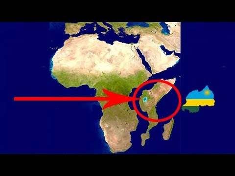 Itandukana ry' U Rwanda n' umugabane w' Afurika rukajya ku nyanja