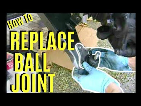 How to Install Replace Ball Joints Toyota RAV4 Corolla Camry -Jonny DIY