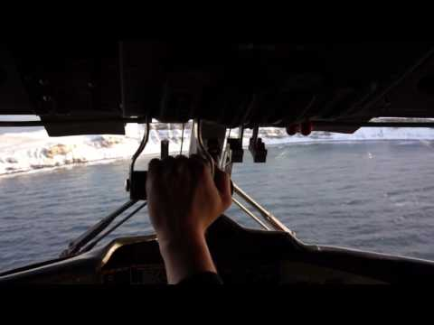 Grimsey Island Flying; Flying from Akureyri to Grimsey-Arctic Circle with Twin Otter
