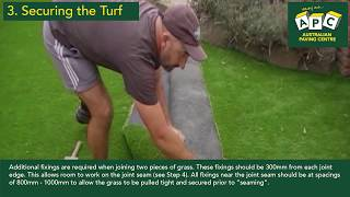 APC Installation Guide to DIY Artificial Grass