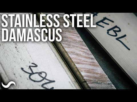 CAN YOU MAKE STAINLESS STEEL DAMASCUS???