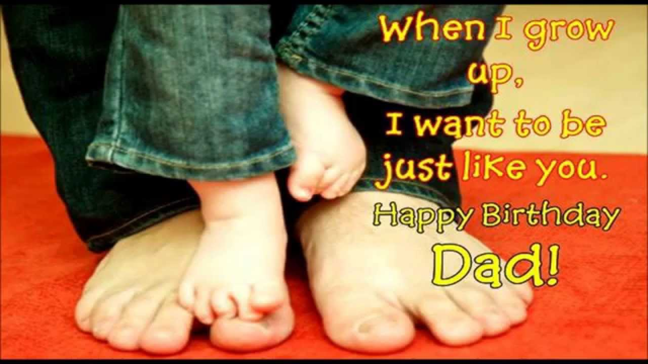 Happy Birthday Dad Wishes Sms Quotes Message Greetings For