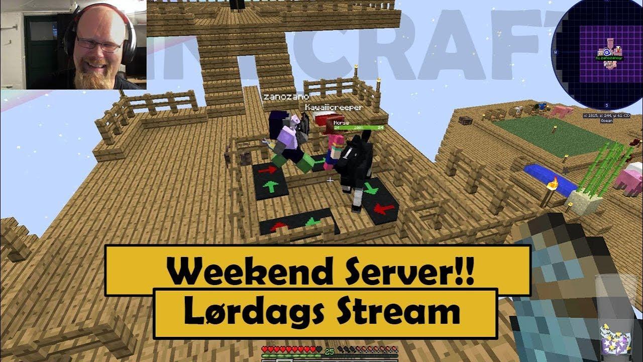 Lørdags Stream | Weekend Server | Sky Factory 3
