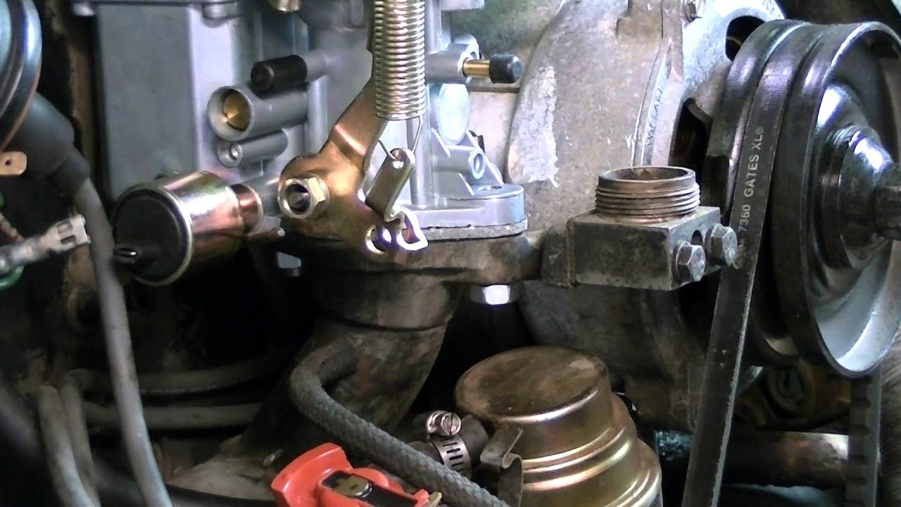 air cooled volkswagen dual port carburetor installation [ 1280 x 720 Pixel ]