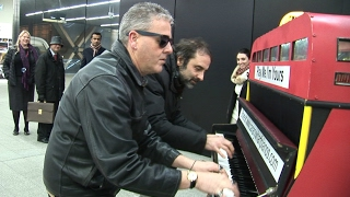 Blues-Boogie Piano on The Badass Boogie Bus