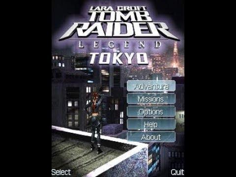 Lara Croft - Tomb Raider Legend Tokyo 3D GSM Java Mobile Phone Game